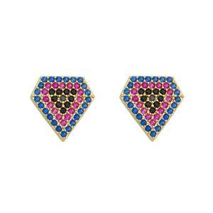 Imagem de Brinco com pedras coloridas - 0523731