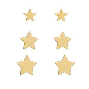 Imagem de Brinco trio estrelas - 0523755