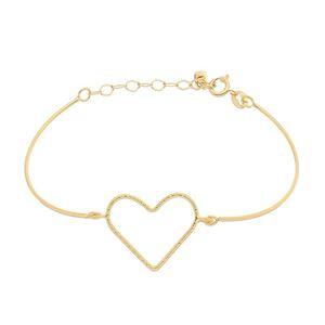 Imagem de Pulseira bracelete coração - 0405527