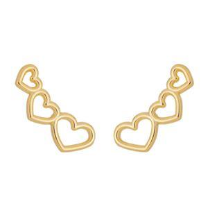 Imagem de Brinco ear cuff coração vazado - 0523802