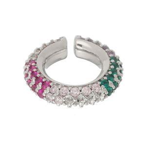 Imagem de Piercing de pressão pedras coloridas - 0207263