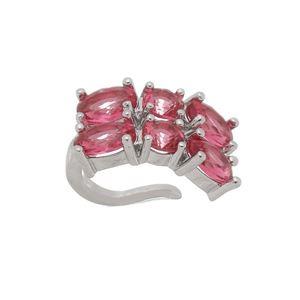 Imagem de Piercing de pressão pedras oval - 0207269