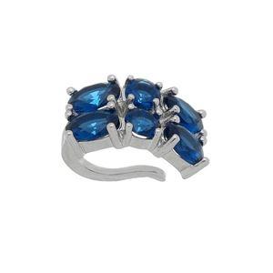 Imagem de Piercing de pressão pedras oval - 0207267