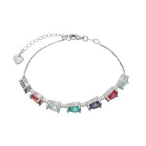 Imagem de Pulseira bracelete pedras coloridas - 0405559