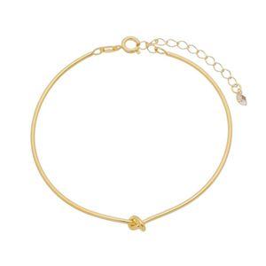 Imagem de Pulseira bracelete fio com nó - 0405528
