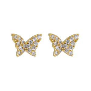 Imagem de Brinco borboleta zircônia  - 0524093