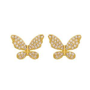Imagem de Brinco borboleta zircônia - 0524180
